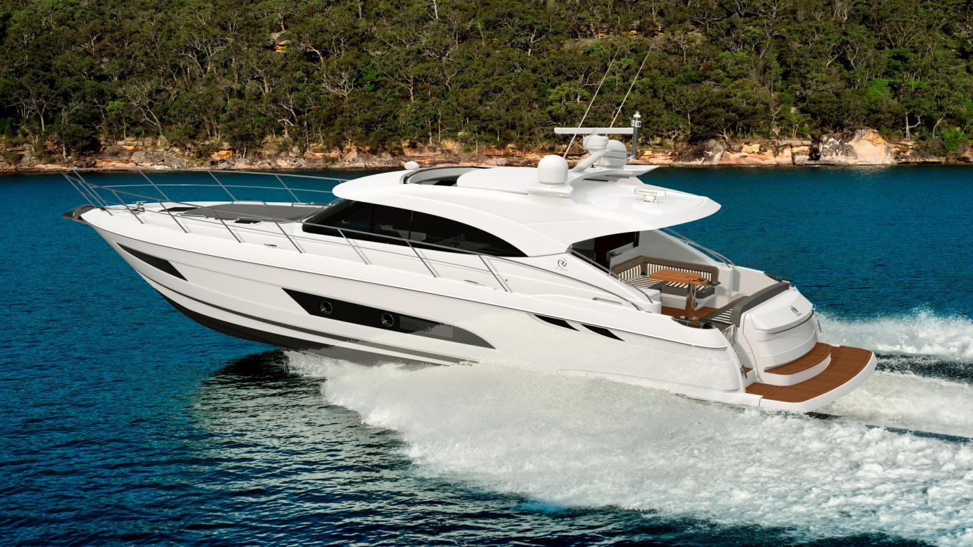More world-firsts for Riviera's 4800 Sport Yacht and Volvo Penta at Sydney Boat Show