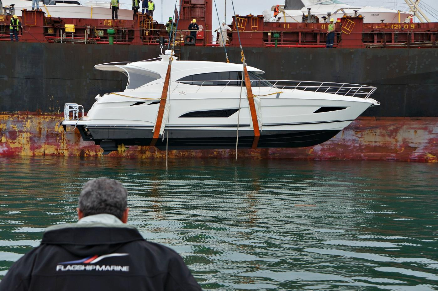New Riviera 5400 Sports Yacht Arrives in Auckland