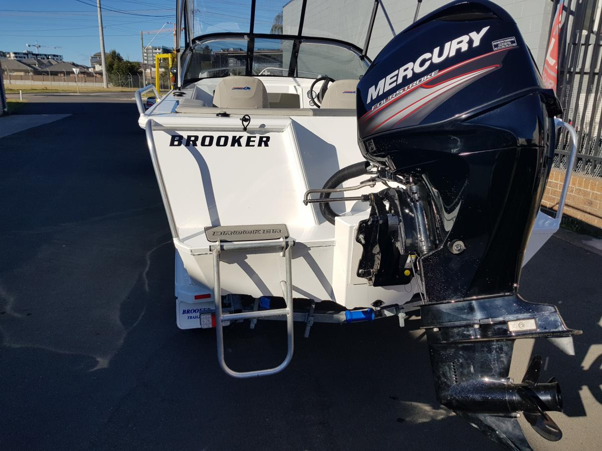 2017 Brooker 455 Freedom Demo sale Save $5,500 off RRP