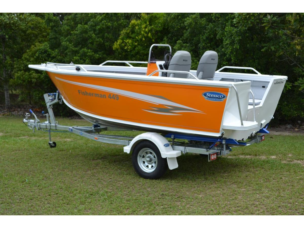 Fisherman 429 to 459 Series Side Console