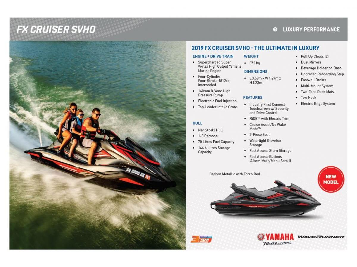 2019 FX SVHO Cruiser | Marina Bayside