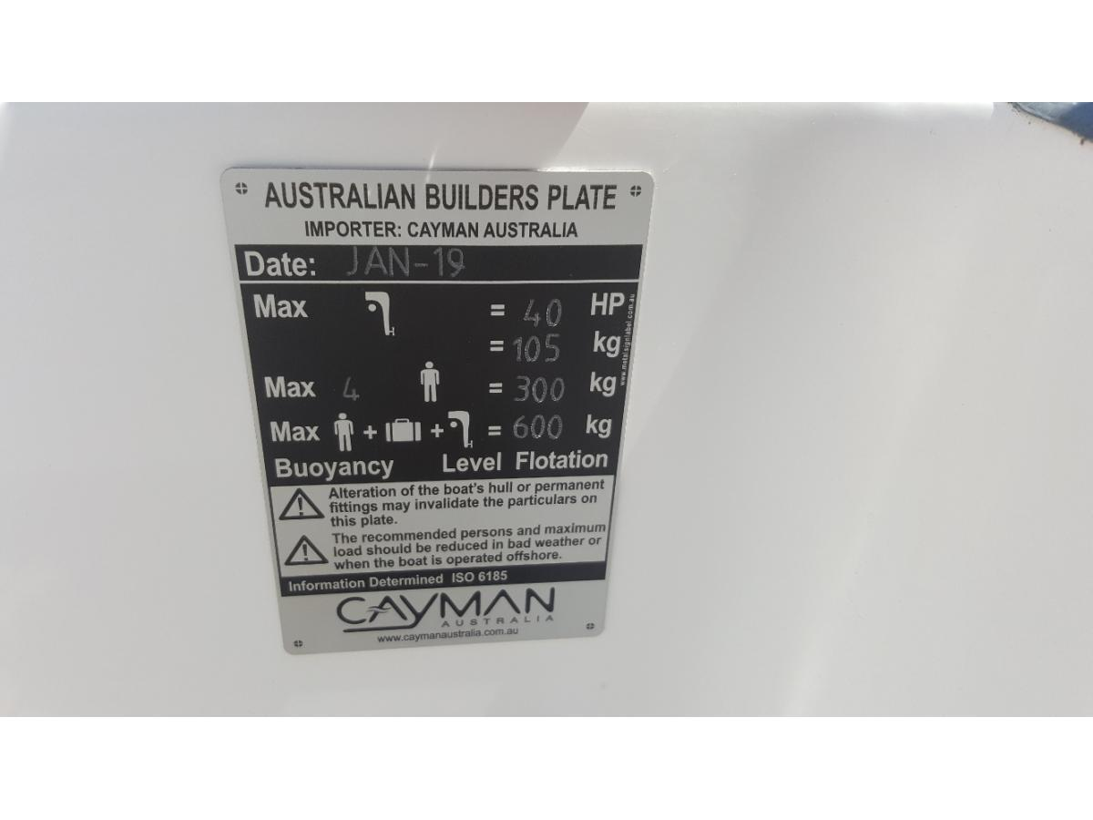 USED 2019 Cayman 380 RIB