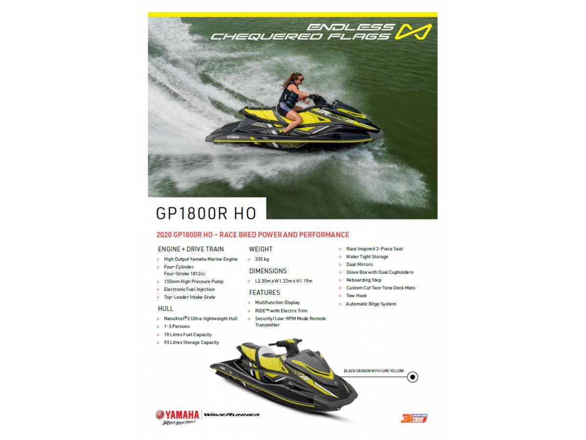 2020 GP1800R HO