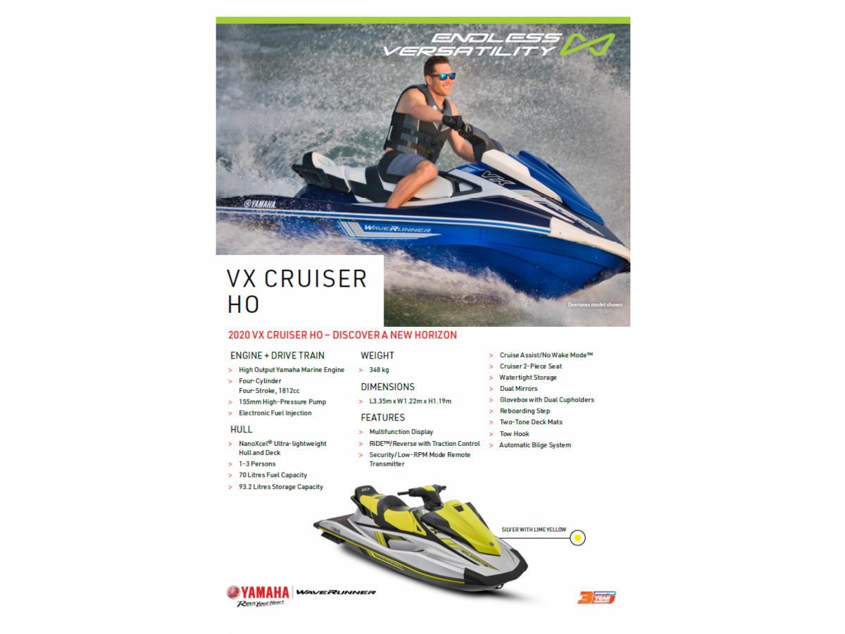 2020 VX HO Cruiser