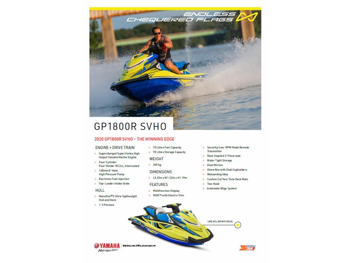 2020 GP1800R SVHO